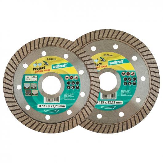 Wolfcraft 8328000 - 1 disco de corte diamantado