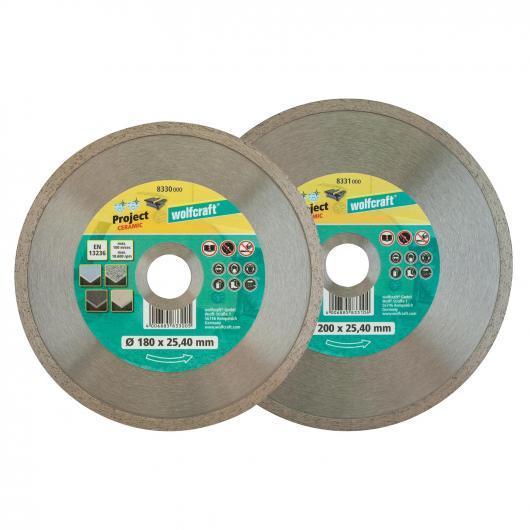 Wolfcraft 8331000 - 1 disque diamant à tronçonner