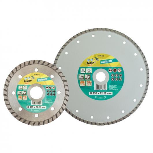Wolfcraft 1698000 - 1 disco da taglio diamantato