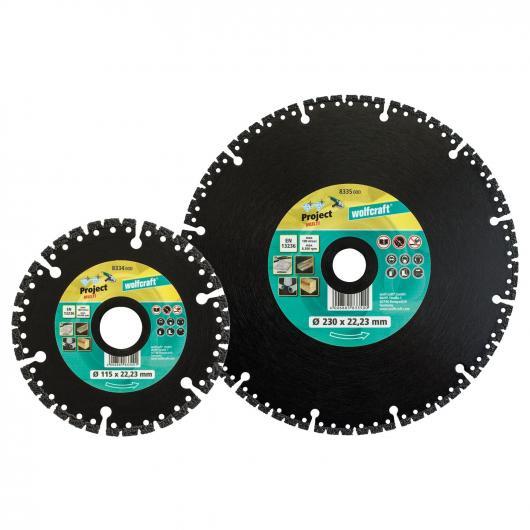 Wolfcraft 8334000 - 1 disco de corte diamantado