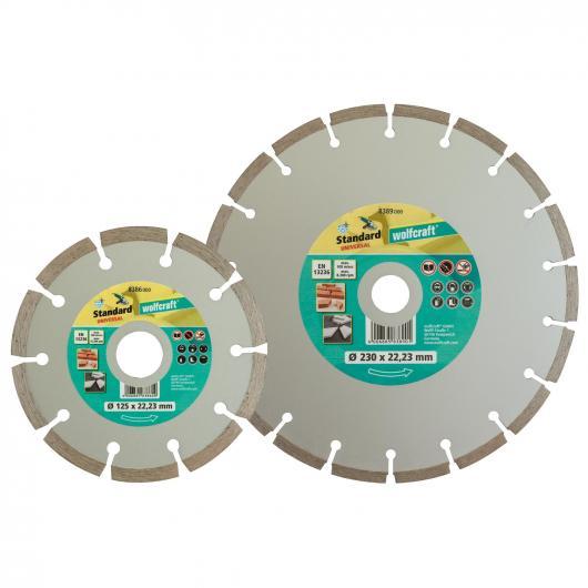 Wolfcraft 8389000 - 1 disco de corte diamantado