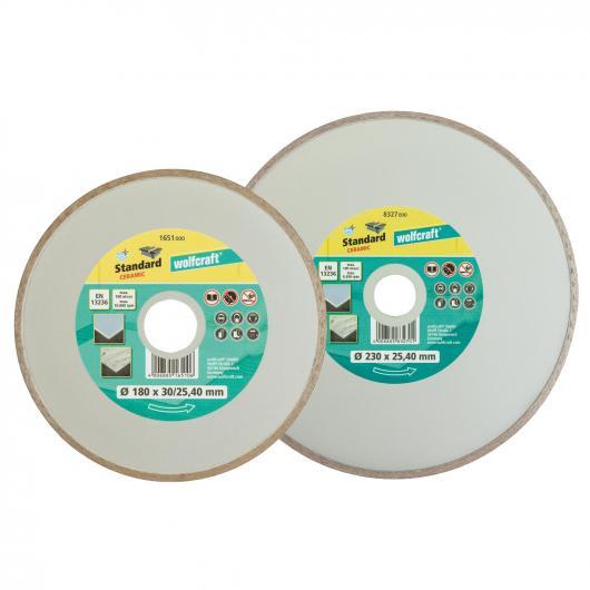 Wolfcraft 1651000 - 1 disco de corte diamantado