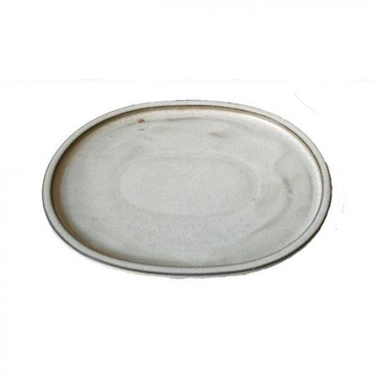 Plato cerámico Java Crema Ovalado