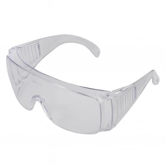 Wolfcraft 4879000 - 1 paire de lunettes de protection