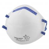 Wolfcraft 4837000 - 20 máscaras antipolvo FFP2, especialmente adecuadas para prevención antigripe t, DIN EN 149:2001 + A1:2009 (CE)