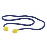 Wolfcraft 4872000 - 1 par tapones audioprotectores reutilizable, con cordel, SNR 33 dB, DIN EN 352-2:2002 (CE)