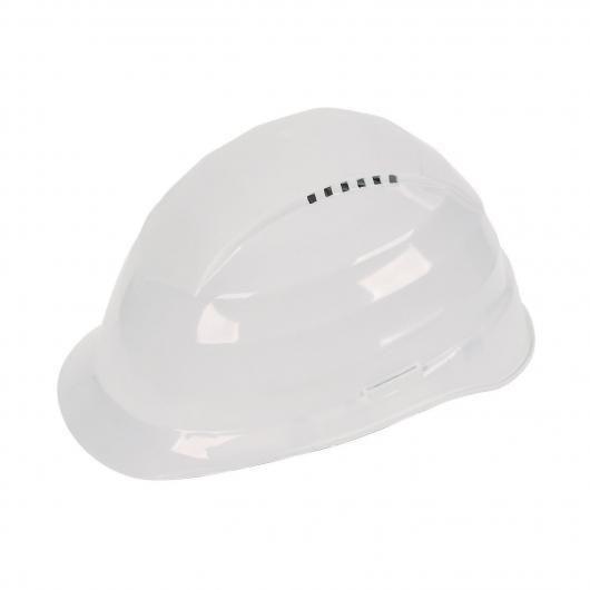 Wolfcraft 4853000 - 1 casco protector amarillo, DIN EN 397:2005-05 (CE)