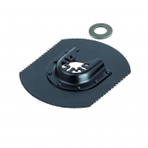 Wolfcraft 3956000 - 1 Hoja de serrar para madera multiuso BiM Ø 80 x 110 mm