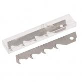 Wolfcraft 4179000 - 5 cuchillas de gancho rompibles en caja 18 mm
