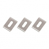 Wolfcraft 4310000 - 3 lâminas de substituição para cortador de bordos