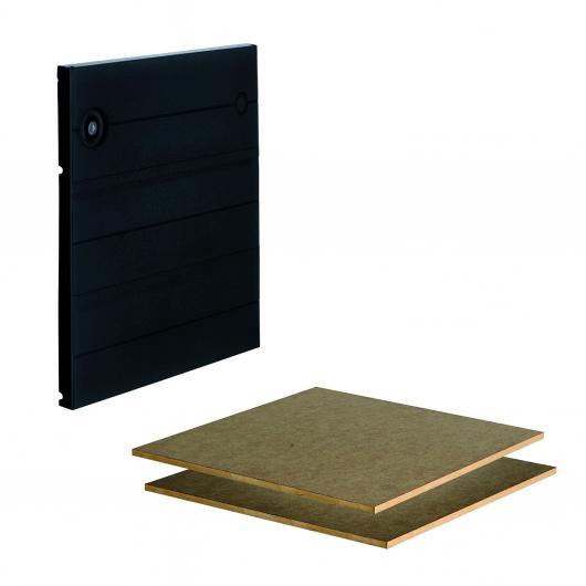 Wolfcraft 6783000 - 1 Set de puerta con baldas