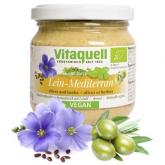 Paté de aceite de Lino Mediterráneo bio Vitaquell 180g