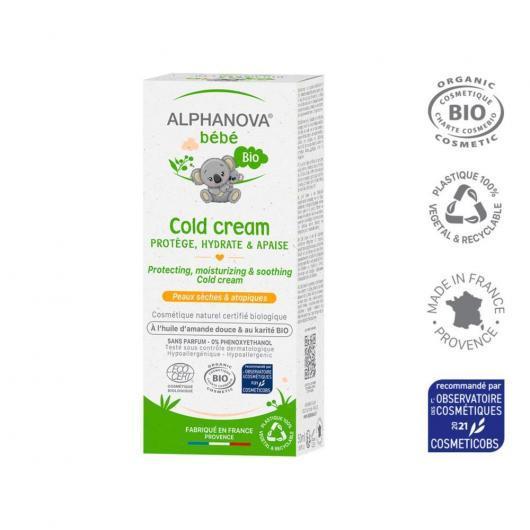 Cold Cream - Crème Apaisante Alphanova 50 g