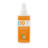 Protection Solaire SPF 50 KIDS Alphanova 125 mL