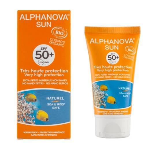Protector Solar SPF 50+ Alphanova 50 ml.