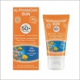 Protector Solar SPF 50+ con color Alphanova 50 ml.