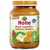 Potito BIO dde verduras variadas +6 meses Holle, 190 g