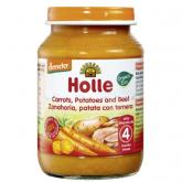 Omogenizzato BIo di carota, patata e vitello +4 mesi Holle,190g