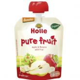 Smoothie BIO de manzana, plátano y pera Holle, 90g