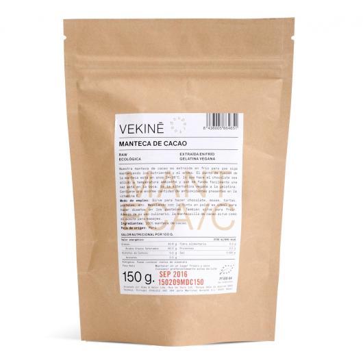 Manteca de Cacao BIO Vekinè, 150 gr