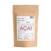 Açai ecologico in polvere Vekinè, 100 gr