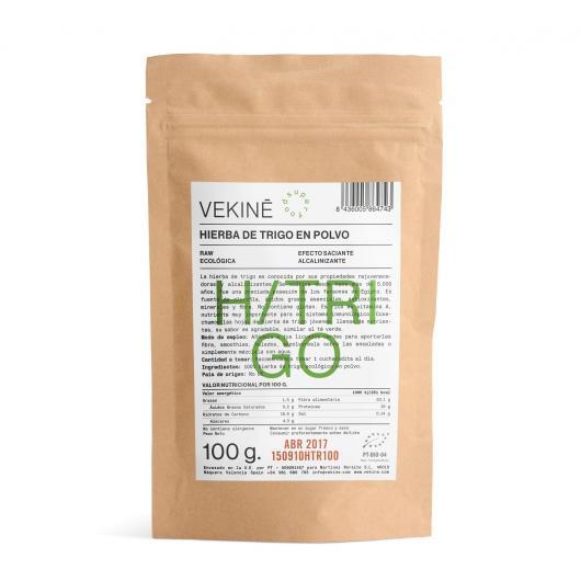 Hierba de Trigo en polvo BIO Vekinè, 100 gr