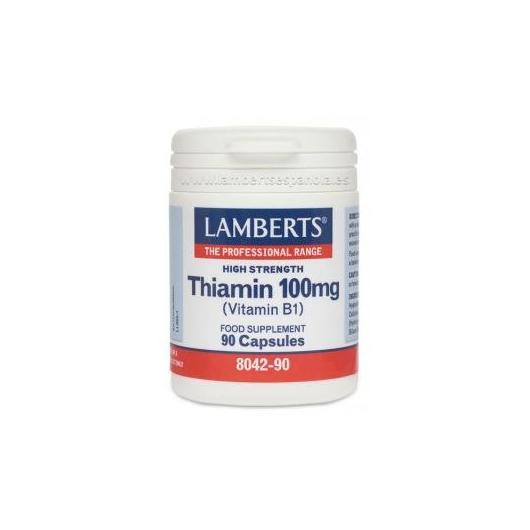 Tiamina 100 mg Lamberts, 90 compresse
