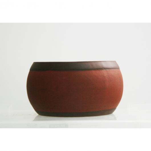 Pot à bonsaï rond 11 x 6,5 cm