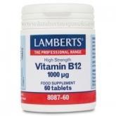 Vitamine B12 1000µg Lamberts, 60 comprimés