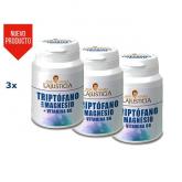 Confezione da 3 Triptofano con Magnesio e Vitamina B6 Ana María LaJusticia, 60 compresse