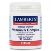 Complesso de Vitamina K Lamberts, 60 compresse