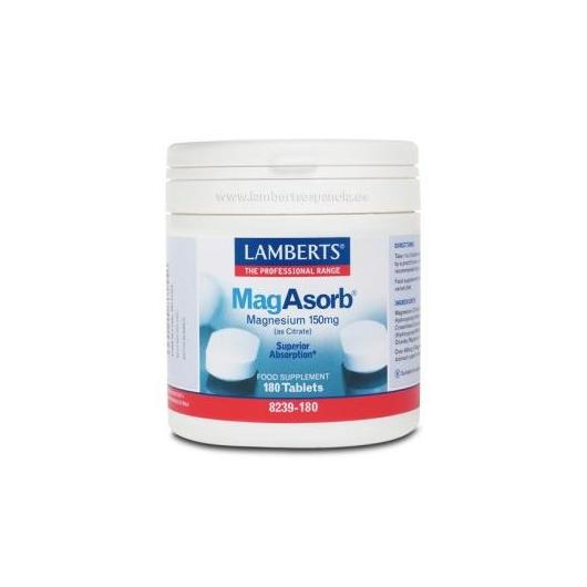 MagAsorb® Lamberts, 180 comprimés