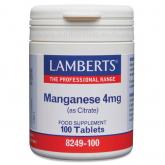 Manganese 5 mg Lamberts, 100 compresse