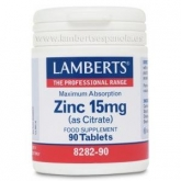 Zinc 15 mg Lamberts