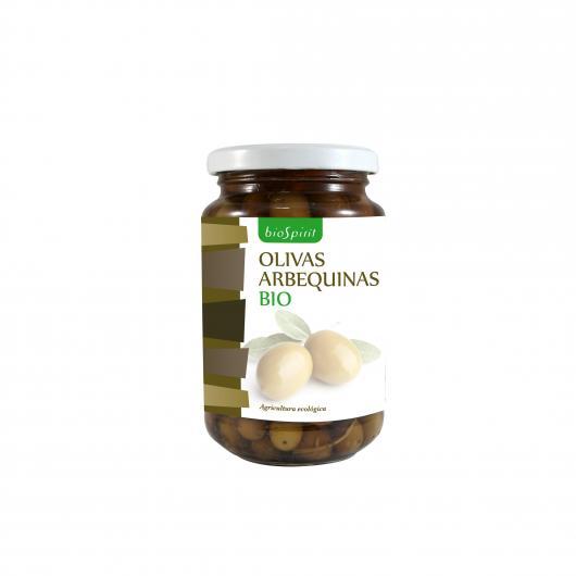 Olive Arbequinas BioSpirit, 200gr