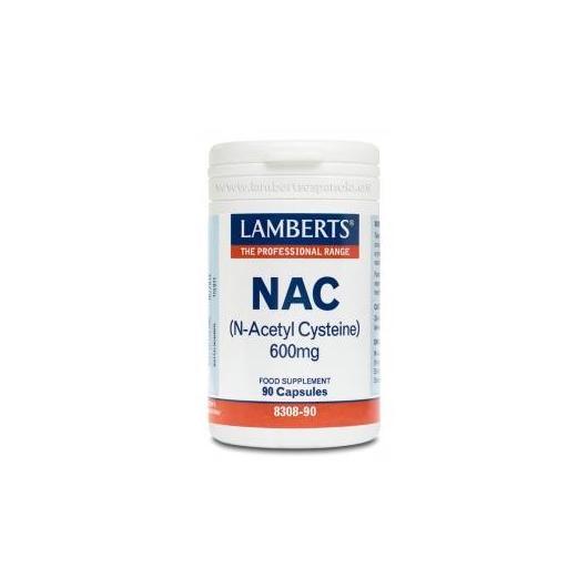 NAC (N-acetil cisteína) 600 mg Lamberts, 90 capsule