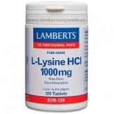 Lisina 500 mg Lamberts, 120 compresse