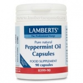 Olio di menta 50 mg Lamberts, 90 capsule
