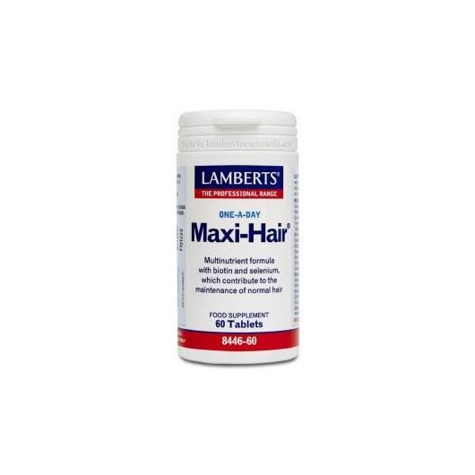 Maxi-Hair® Lamberts, 60 tabletas