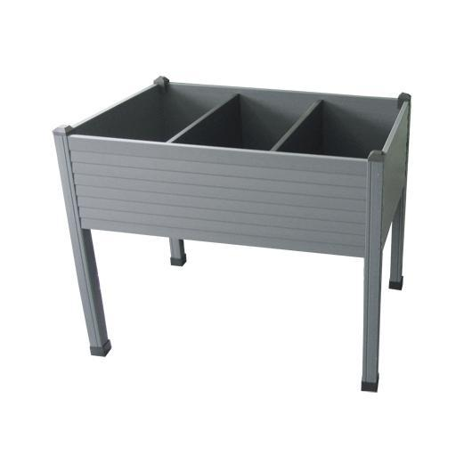 Table de culture en plastique anthracite