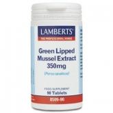 Extrait de Moule Verte 350 mg Lamberts 90 comprimés