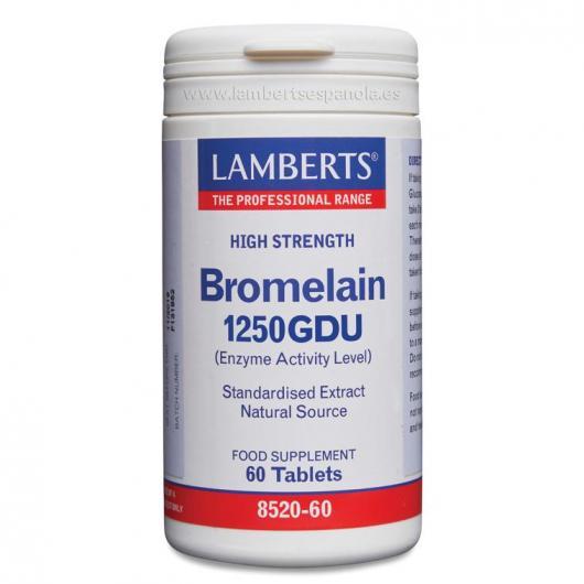 Bromelina 1000 GDU Lamberts, 60 compresse