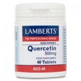 Quercitina 500 mg Lamberts, 60 talbetas