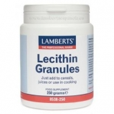 Lecitina di Soia Granulata, Lamberts 250 g