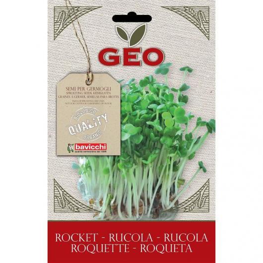 Semillas germinado Rúcula, bavicchi GEO, 30g