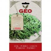 Leek sementes germinadas, Bavicchi GEO, 6g