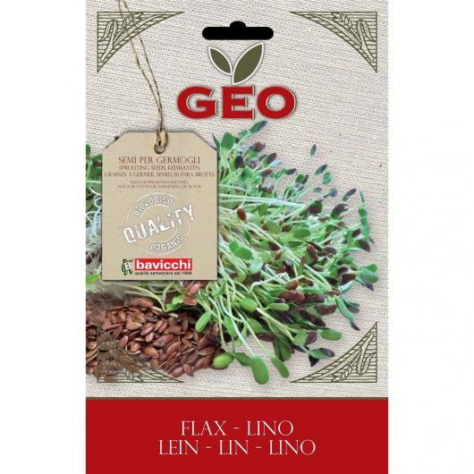Semi germogliati Lino, bavicchi GEO, 80g