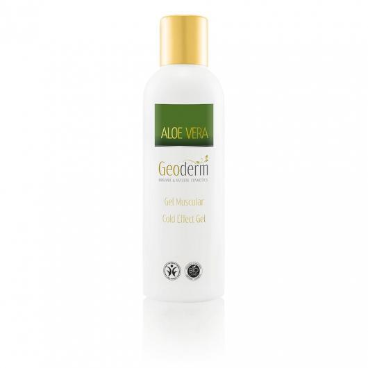 Gel Musculaire à l'Aloe Vera Froid/Chaud Geoderm 200 ml