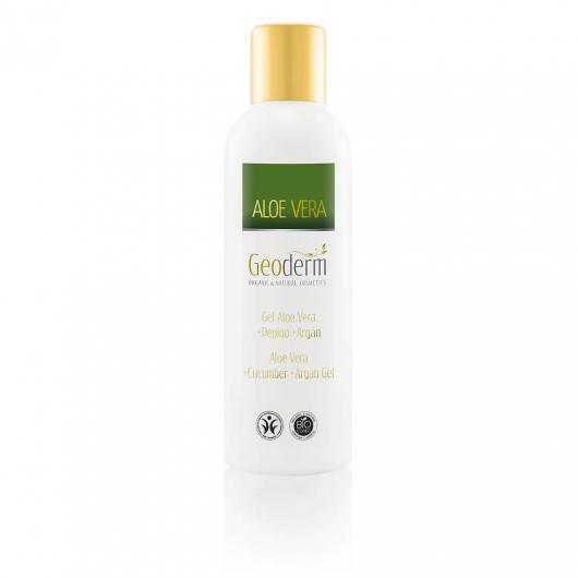 Gel Aloe Vera, Argan y Pepino  Geoderm 200 ml