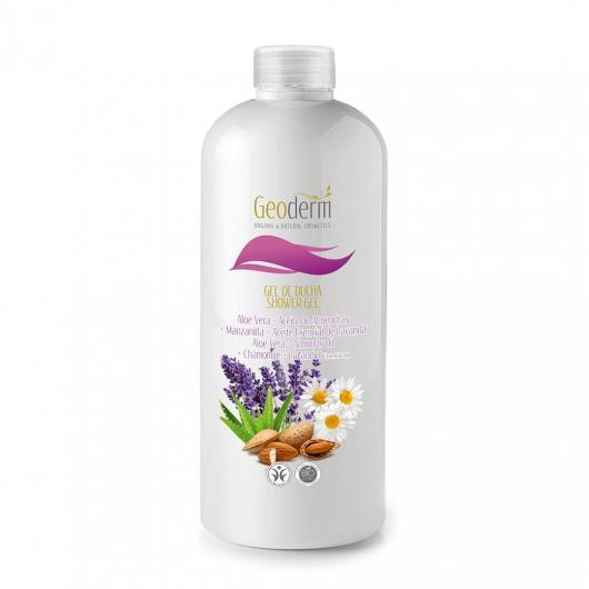 Gel Aloe Vera, Amandes, Camomille et Lavande Geoderm 500 ml